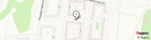 Митино О2 на карте Сабурово
