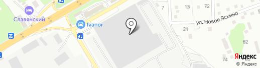 Интербумторг на карте Одинцово