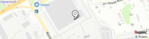 Компания Авангард на карте Одинцово