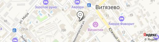 Афродита на карте Анапы