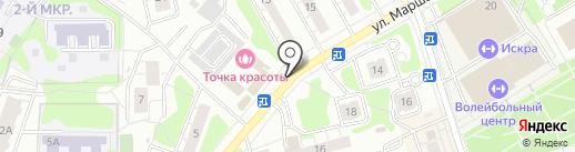 Мясной магазин на карте Одинцово