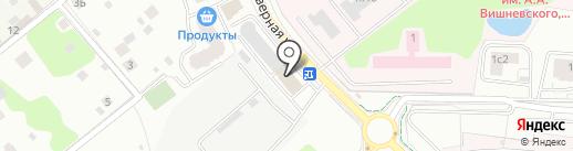 Трио Дент на карте Одинцово