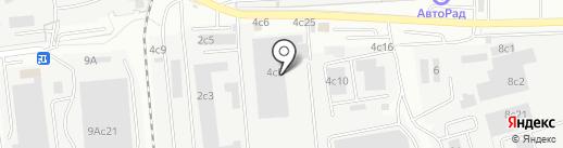 Одинцовская теплосеть на карте Одинцово