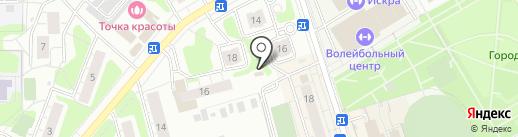 Арис на карте Одинцово