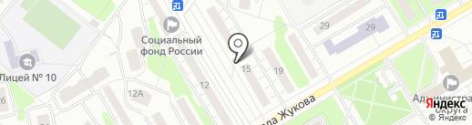Мясницкий ряд на карте Одинцово