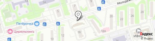 Трансинжстрой на карте Одинцово