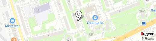 Ретро на карте Одинцово