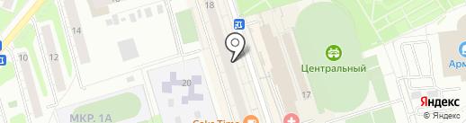 МЕДЛЮКС на карте Одинцово
