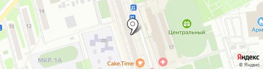 Платежный терминал, Московский кредитный банк, ПАО на карте Одинцово