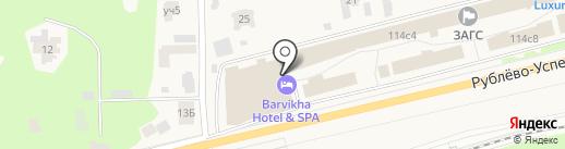 Spa Chenot Vitality Espace на карте Барвихи