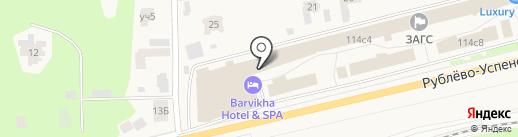 Московский областной Дворец бракосочетания №1 на карте Барвихи