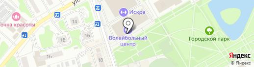 Заречье на карте Одинцово