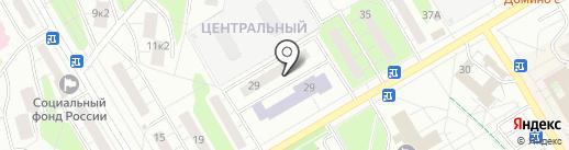 Совет депутатов городского поселения Одинцово на карте Одинцово