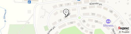 Сабурово Парк на карте Сабурово