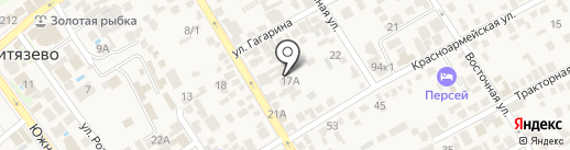 У Галины на карте Анапы
