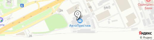 ДЕТСАД-ШКОЛА на карте Одинцово