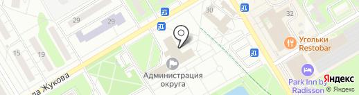 Столовая №1 на карте Одинцово