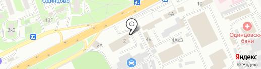 Пожарная часть №3 на карте Одинцово