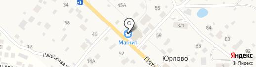 Магнит на карте Юрлово