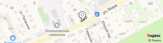 Красногорский хлеб на карте Красногорска