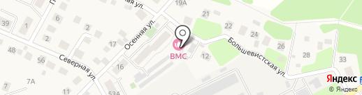 Баня на карте Красногорска