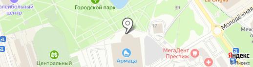 Точка отрыва на карте Одинцово