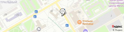 Магазин продуктов на карте Одинцово