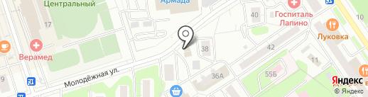 Национальный платежный сервис на карте Одинцово