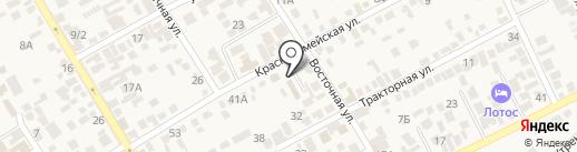 Элени на карте Анапы