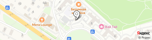 Зеленый Чемодан на карте Красногорска