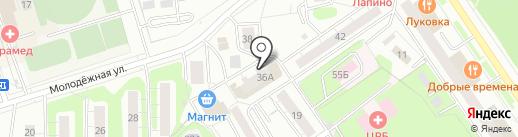 Архивный отдел на карте Одинцово