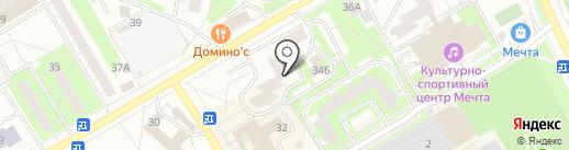 ОРТЕКА на карте Одинцово