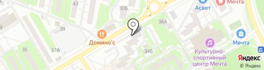 Диалог плюс на карте Одинцово
