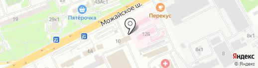РуСептик на карте Одинцово