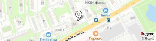 Корвет на карте Одинцово
