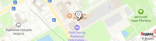 Coream на карте Одинцово