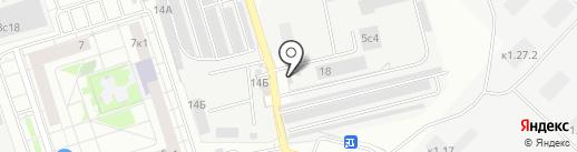 Продуктовый магазин на карте Одинцово