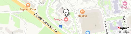 КрасМаркет на карте Красногорска