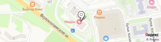 ОПТИКМИР на карте Красногорска