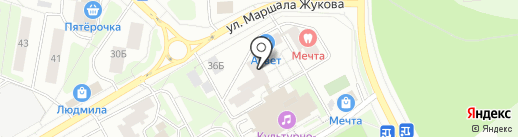 ГРАУНД ХАУС на карте Одинцово