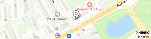Эстейдж, сеть салонов штор на карте Одинцово