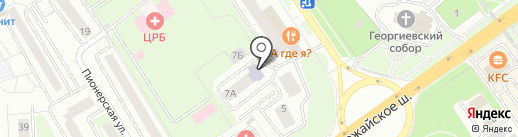 СДЮСШОР по фехтованию на карте Одинцово