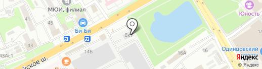 Банно-прачечный комплекс на карте Одинцово