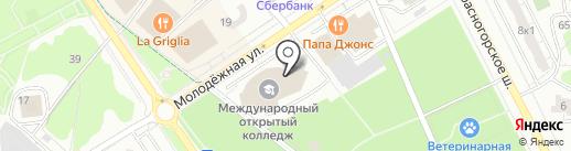 Лидер на карте Одинцово