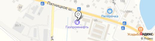 АЗС Нефтьмагистраль на карте Юрлово