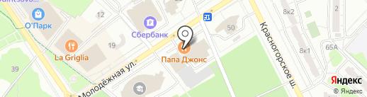 Платежный терминал, Россельхозбанк на карте Одинцово