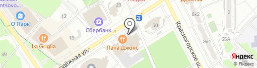 Dream Dance на карте Одинцово