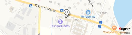 Магазин цветов на карте Юрлово