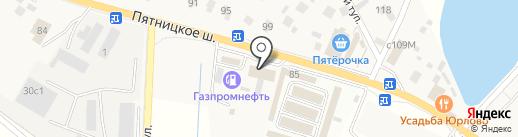 Автомойка на ул. Юрлово д на карте Юрлово
