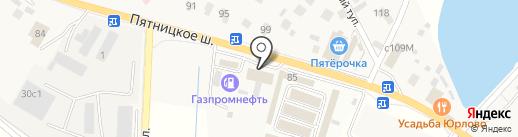 Джага Джага на карте Юрлово